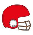 sport helmet isolated icon vector image