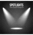 Spotlight Background Spotlight isolated vector image