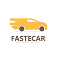 logo of fast delivery vector image