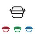 basket icon vector image vector image