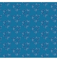 Blue seamless pattern with ornament vector image vector image