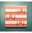 Box with gift vector image vector image