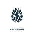 brainstorm icon premium style design from vector image
