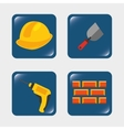 builder tools vector image vector image
