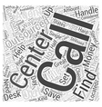 call center outsourcing Word Cloud Concept vector image vector image