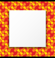 Colorful Frame Background vector image vector image