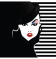 Fashion teenage girl vector image vector image