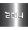 metallic new year background 0511 vector image vector image