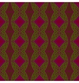 pattern with Eastern ornament vector image vector image