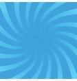 Radial swirl comic background vector image