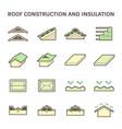 roconstruction icon vector image vector image