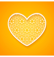 Abstract Heart Silhouette vector image