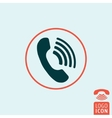 Phone icon isolated vector image