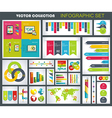 Collection of quality Infographics Design vector image