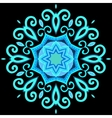 Abstract Hand-drawn Mandala 2 vector image