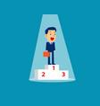 best businessman team concept business vector image
