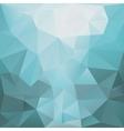 blue polugonal background vector image