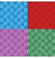 chucky swirls multi vector image vector image