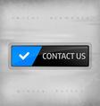 Contact Button vector image vector image