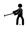 croquet glyph icon vector image