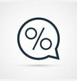 discount sale trendy symbol trendy vector image