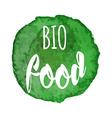 natural organic icon label vector image