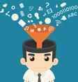 Businessman Communication vector image