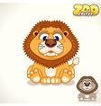 Cartoon Lion Character vector image
