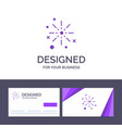 creative business card and logo template bang vector image