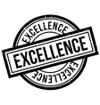 Excellence rubber stamp vector image