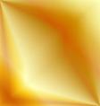 Golden metal background vector image vector image