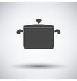 Kitchen pan icon vector image