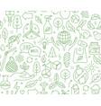 no plastic go green zero waste reduce reuse vector image