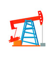 oil energy industry vector image
