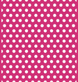 seamless polka dot pattern colorful stamp for vector image vector image