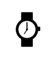Wrist watch icon vector image vector image