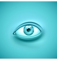 Background with eye vector image vector image
