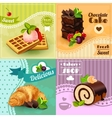 Bakery Concept Set vector image