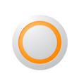 big technology button concept vector image