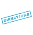 Directions Rubber Stamp vector image vector image