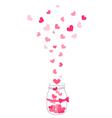 hand drawn jar vector image vector image