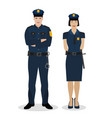 police officers image vector image