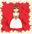 wedding marriage love vector image