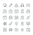 Wedding Cool Icons 1 vector image