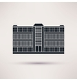 business center icon in flat style vector image vector image