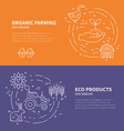 Eco Products Concept vector image vector image