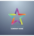 logo design star vector image