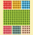 Weave Fiber Texture Multicolour vector image