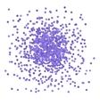 Blue Confetti vector image