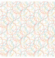 bubbles seamless pattern celebration background vector image vector image